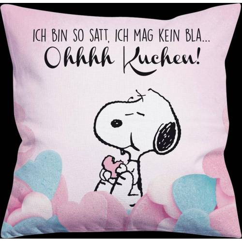 UnitedLabels AG Snoopy Kissen - ohhhh Kuchen