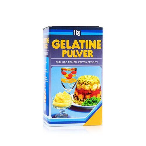Gelatine Pulver, weiss, 160 Bloom, 1 kg