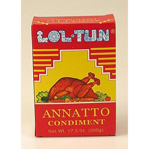 Achiotegewürz/-paste aus Orleanssamen (Annatto Samen), 500 g