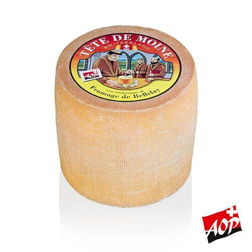 Mönchskopfkäse - Tête de Moine AOP, ganzer Laib, ca.800 g