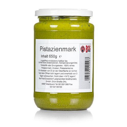 BOS FOOD Pistazien-Mark, 100% Mark ohne Zusatzstoffe, 650 g