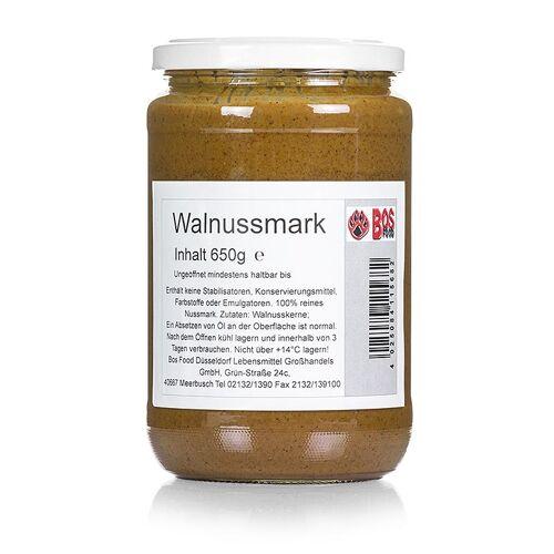 BOS FOOD Walnuss-Mark, 100% Mark ohne Zusatzstoffe, 650 g