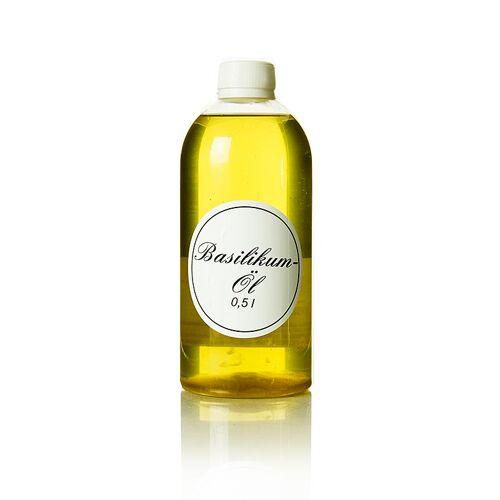 Basilikumöl, Rapsöl mit Basilikum, 500 ml
