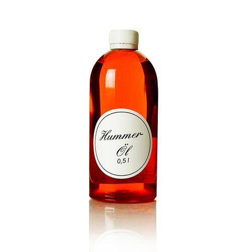 Hummeröl, Rapsöl mit Hummerfumet, 500 ml