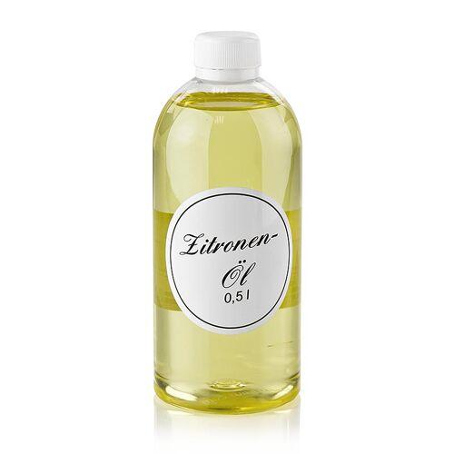 Zitronenöl, Rapsöl mit Zitrone, 500 ml