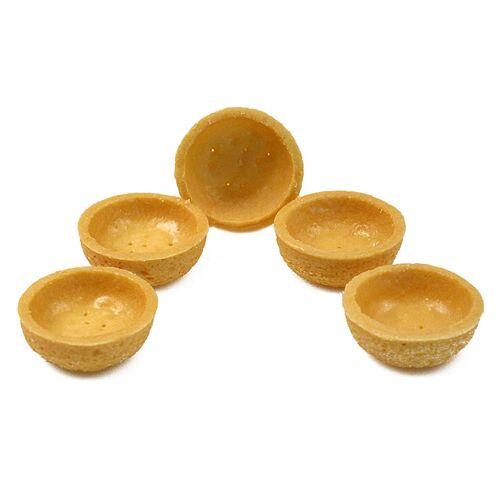 Mini Dessert-Tartelettes, rund, ø 3,8cm, H 1,8cm, Mürbeteig, 1,19 kg, 270 St