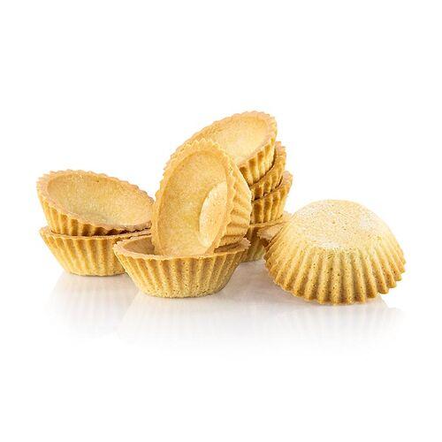 Dessert-Tartelettes, rund, ø 6cm, H 2cm,  Mürbeteig, 3 kg, 210 St