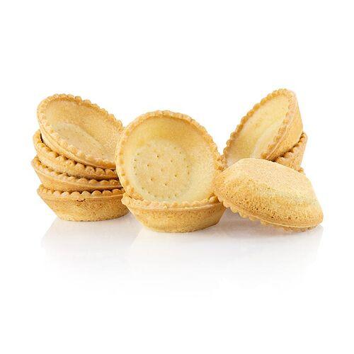 Dessert-Tartelettes, rund, ø 7cm, H 2cm, Mürbeteig, 2,21 kg, 140 St