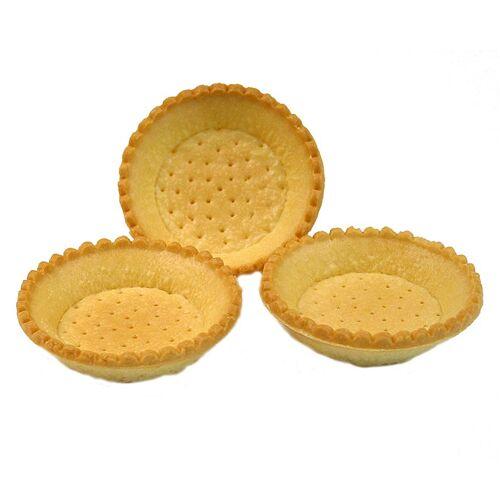 Dessert-Tartelettes, rund, ø 9cm, H 2cm, Mürbeteig, 3,19 kg, 120 St