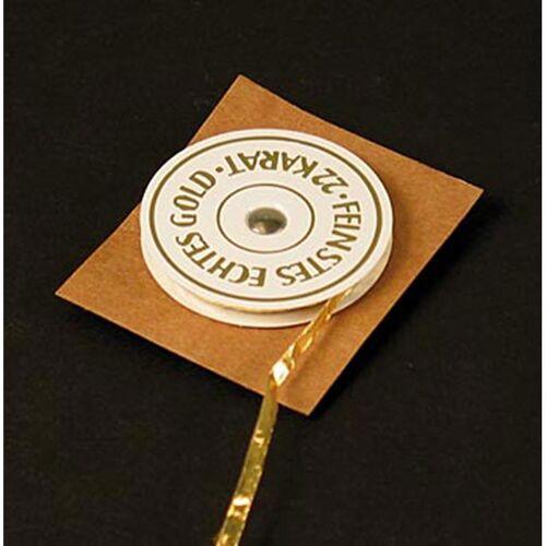 Gold - Rollengold, 22 Karat, 3mm breit, E175, 21 m