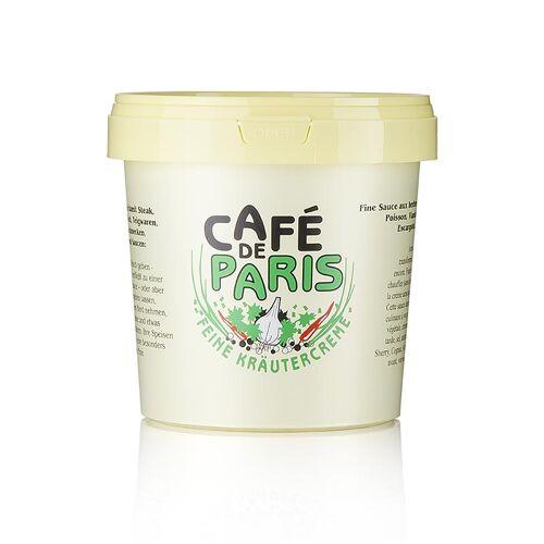 Kräutercreme - Café de Paris, mit pflanzlichen Fetten, Kräutern und Butter, 1 kg