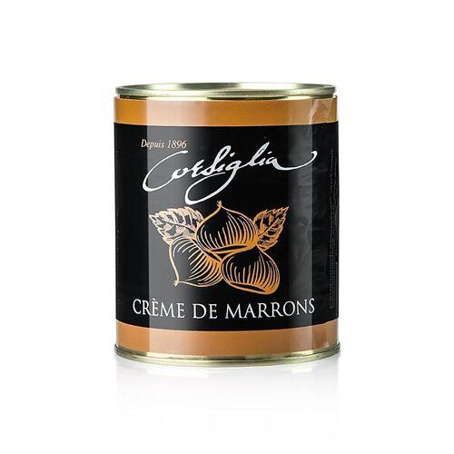 Maronen Creme, kandierte Maronen & Vanille, weich & süß (gelbe Dose), Facor, 1 kg