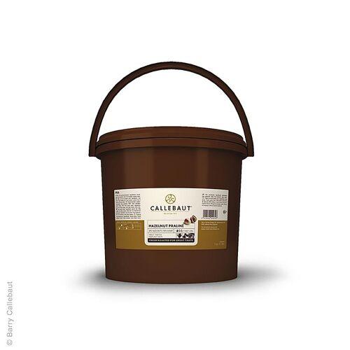 Praliné Masse Haselnuss 50%, gesüßt, Callebaut, 5 kg