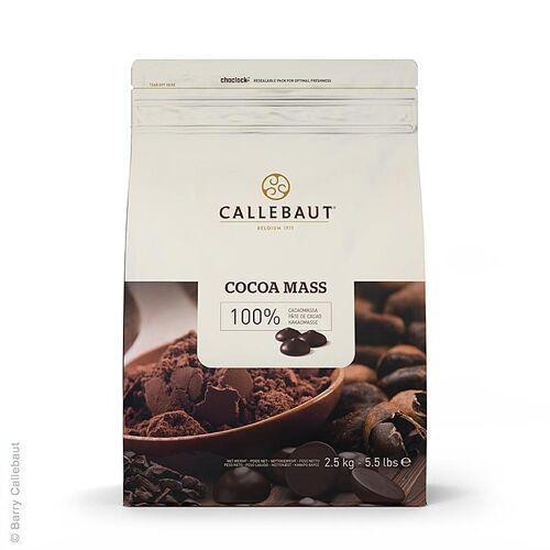 Kakaomasse Extra, Callets, 100% Kakao, Callebaut, 2,5 kg