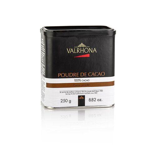 Kakaopulver, stark entölt, 10% Kakaobutter, Valrhona, 250 g