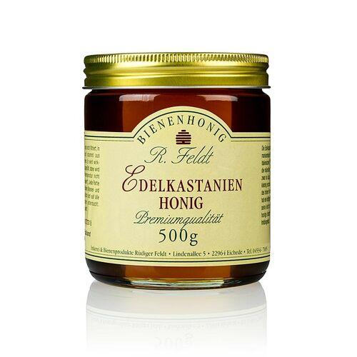 Edelkastanien-Honig, Italien, mittelbraun, flüssig, zartbitter, 500 g