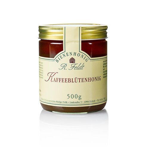 Kaffeeblüten-Honig, dunkel, cremig, mild-feinaromatisch, 500 g