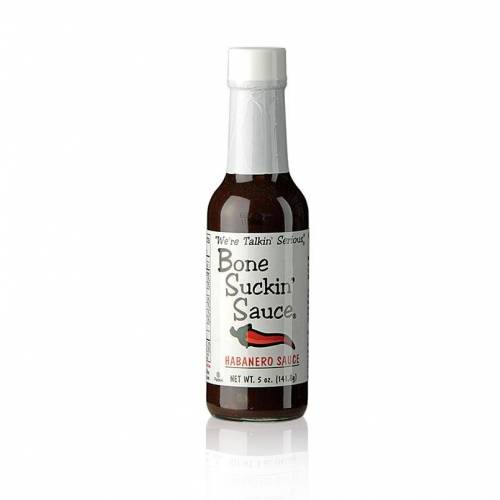 Bone Suckin´ Sauce Habanero BBQ Sauce (Hiccuppin-Hot), Ford´s Food, 147 ml