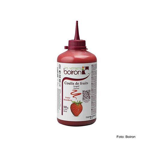 Coulis / Sauce - Erdbeere, 16% Zucker, Squeeze Flasche, TK, 500 g