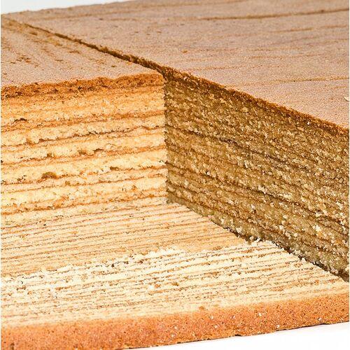 Baumkuchenplatte, handgestrichen, 32x26x4,5cm, TK, 2 kg