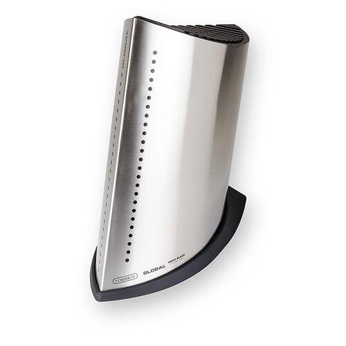 Global Messerblock, Edelstahl, für 13 Global Messer + Schleifstab GKB-51, 1 St