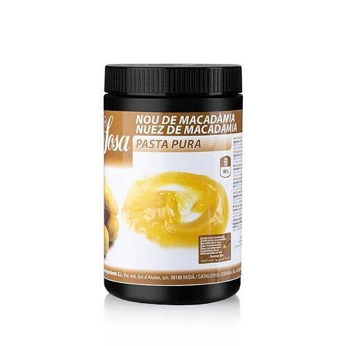 Paste - Macadamianuss, 100%, 1 kg