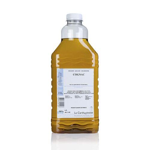 Cognac, 50% vol., dickflüssig für Patisserie & Eisherstellung, 2 l