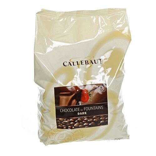 Zartbitterschokolade, Callets, für Brunnen und Fondue, 56,9% Kakao, 2,5 kg