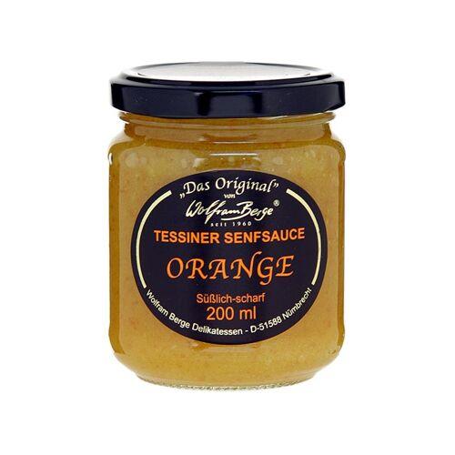 Original Tessiner Orangen-Senf-Sauce, 200 ml