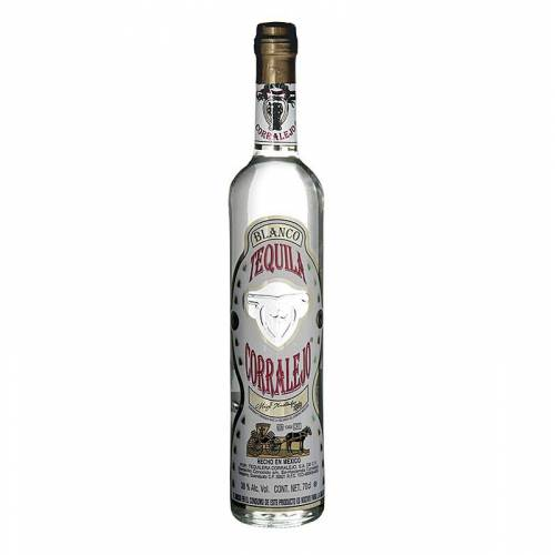 Corralejo Blanco Tequila, klar, 38% vol., 700 ml
