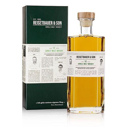 Single Malt Whisky Reisetbauer, 12 Jahre - limitierte Edition, 48% vol., 700 ml