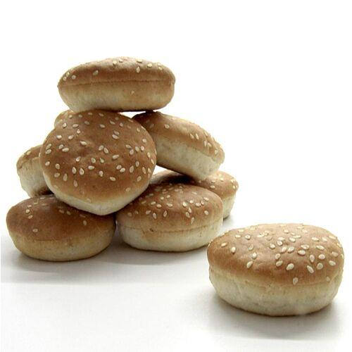 Burger Brötchen Mini mit Sesam, ca. ø 5cm, TK, 3,96 kg, 180 St