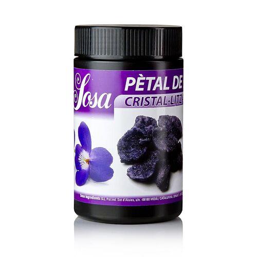 Kristallisierte Veilchenblütenblätter, violett, 500 g
