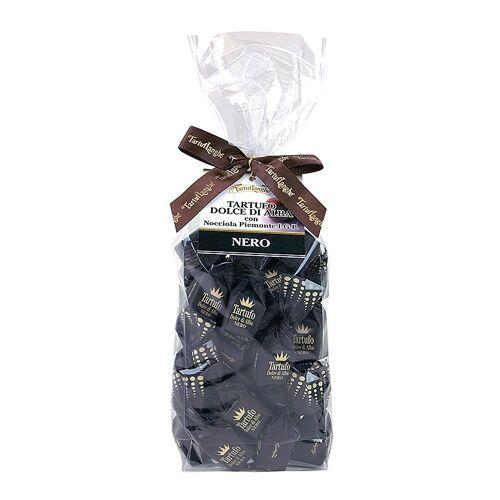 Trüffelpralinen - Dolce d´Alba, dunkle Schokolade, ca. 14g, schwarz, 200 g