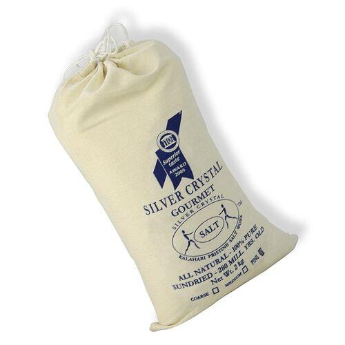 Silver Crystal Salz aus der Kalahari, fein, 2 kg