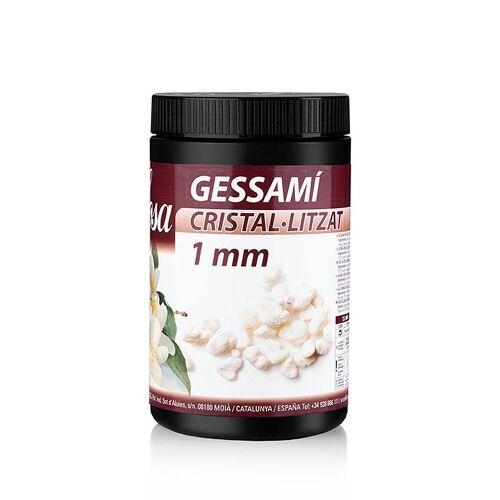 Kristallisierte Jasminblüte, weiß, 1mm Stücke, 500 g