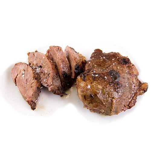 Sous Vide Schweine-Bäckchen vom Iberico Schwein, im Beutel vorgegart, Lahoz, 300 g