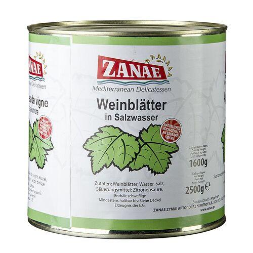 Weinblätter, in Salzwasser, 2,4 kg, ca.360 St