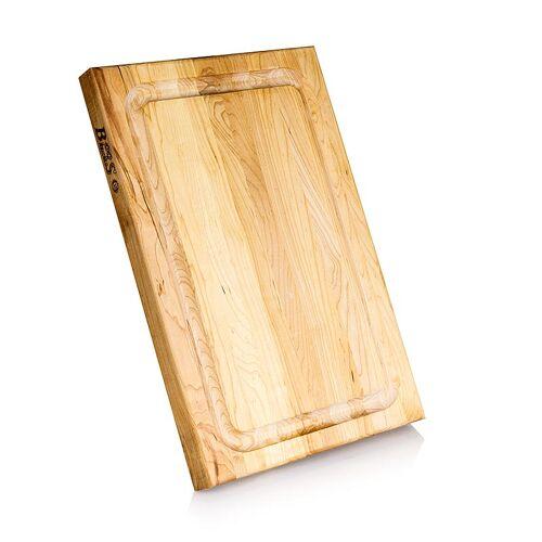 Boos Block Schneidebrett BBQ BD aus Ahorn, 45,7x30,5x3,8cm, mit Ablaufrinne, 1 St