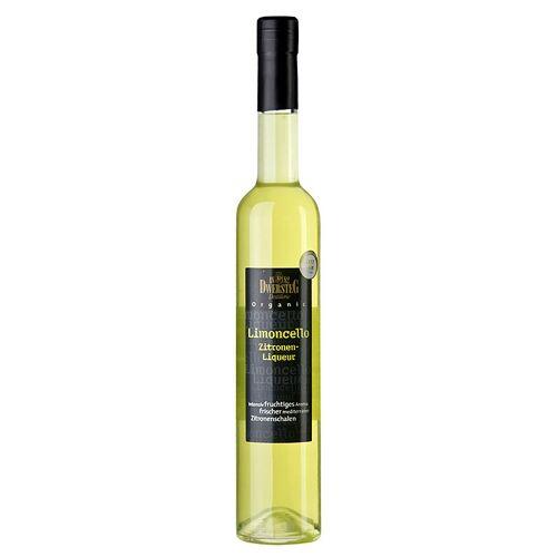 Dwersteg Organic Limoncello, Zitronen-Likör, 33% vol., BIO, 500 ml