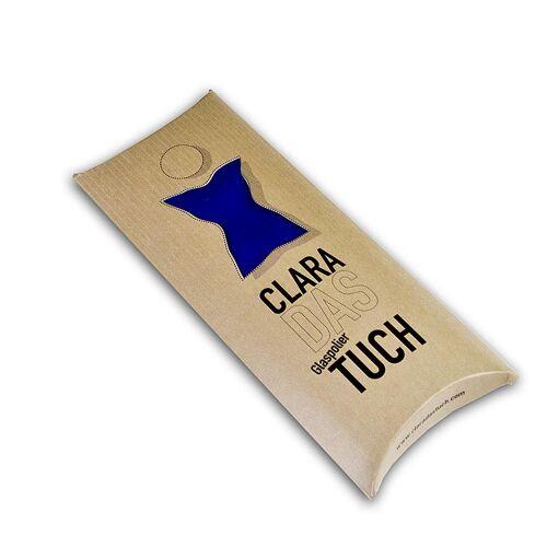 Glaspoliertuch Clara, aus Microfaser, blau, 1 St