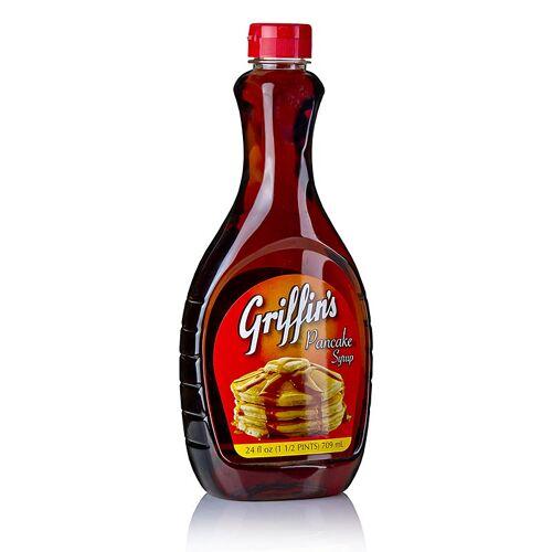Pancake Syrup, mit Ahornsirup, von Griffins, 709 ml