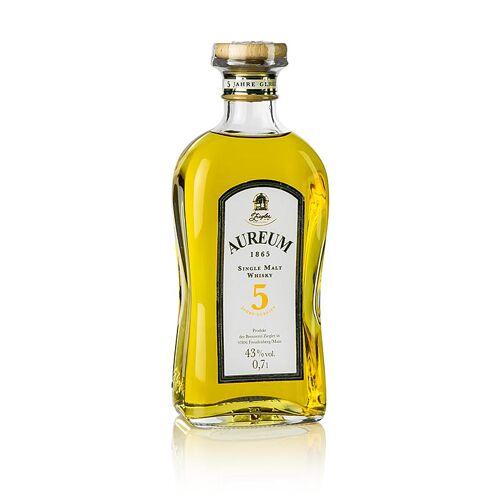 Aureum 1865, Single Malt Whisky, 5 Jahre, 43% vol., Ziegler, 700 ml