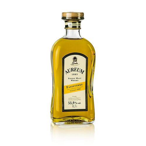 Aureum 1865, Single Malt Whisky, 5 Jahre, Fassstärke 53,9% vol., Ziegler, 700 ml