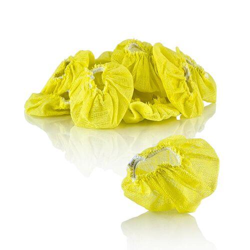 The Original Lemon Stretch Wraps - Zitronenserviertuch, gelb mit Gummiband, 100 St