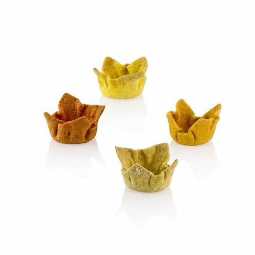 Cups Spicy Tartelettes, Curry-Falafel-Chili-Pfeffer, ø 3cmx1,5cm, Pidy, 384 g, 96 St