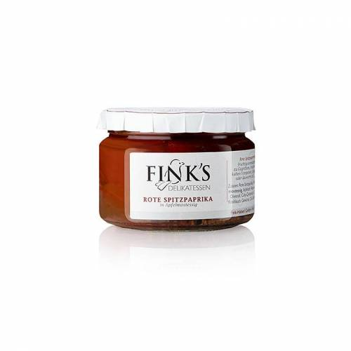 Rote Spitzpaprika, in Mostessig, 240 g