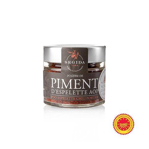 Piment d´Espelette, der französische Pfeffer, Chilipulver, m.g.U., 40 g