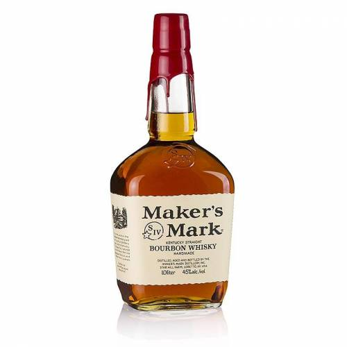 Bourbon Whisky Maker´s Mark, Kentucky Straight Bourbon, 45% vol., USA, 1 l