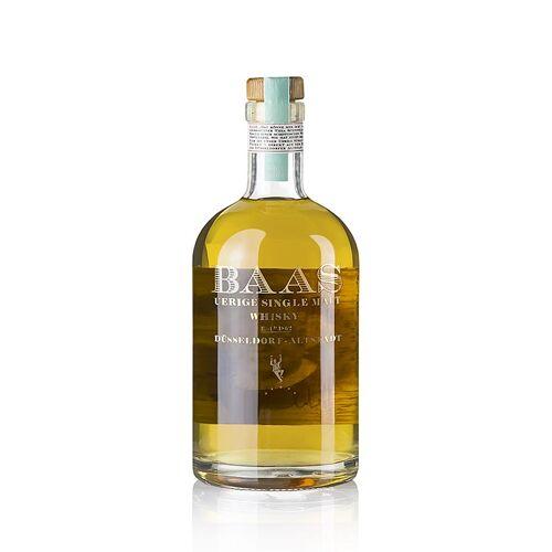 Single Malt Whisky Uerige Baas, 5 Jahre, American Oak, 42,5% vol., Düsseldorf, 500 ml
